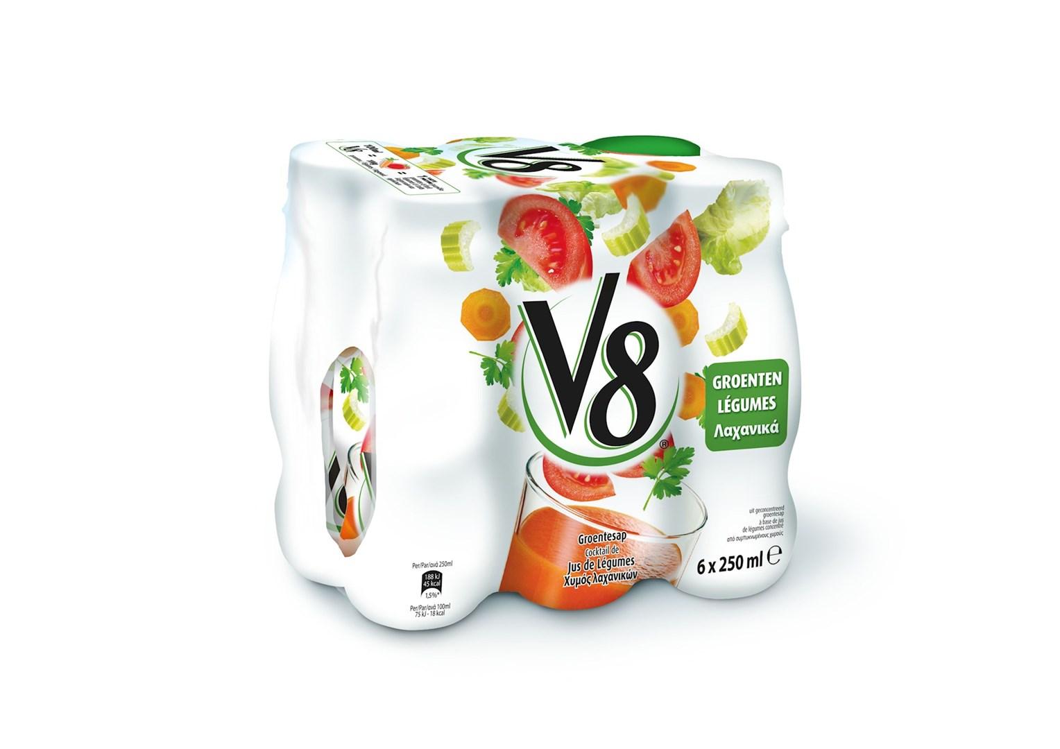Productafbeelding V8 Groentesap 250 ml Fles