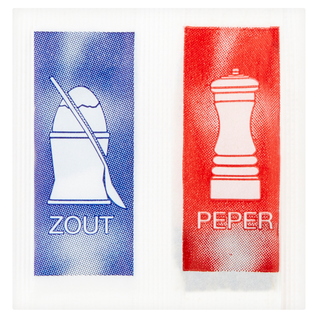 Productafbeelding Combipack Zout/Peper in sachet 1250x1,2g