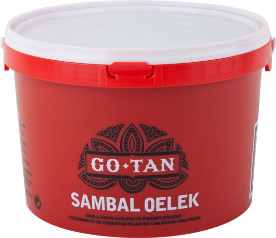 Productafbeelding Go-Tan Sambal Oelek 3kg