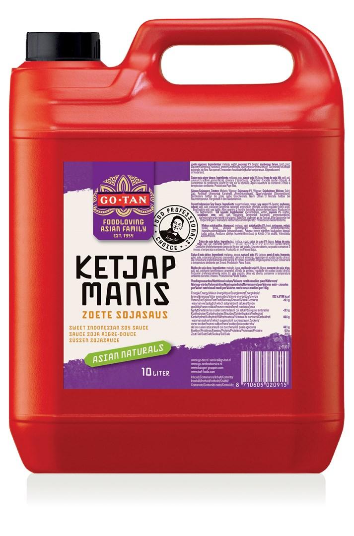 Productafbeelding Go-Tan Ketjap Manis 10L