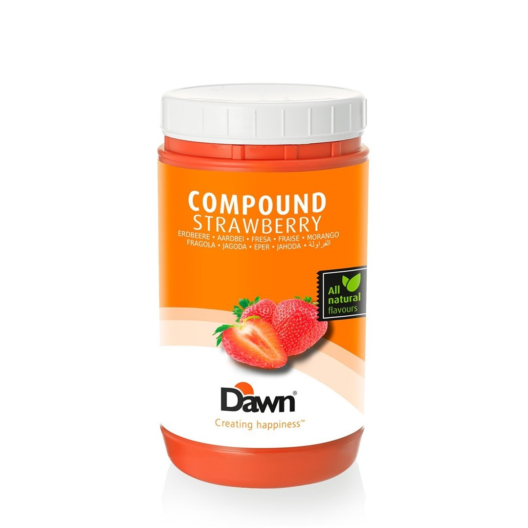 Productafbeelding Dawn Compound Aardbei 1 kg pot