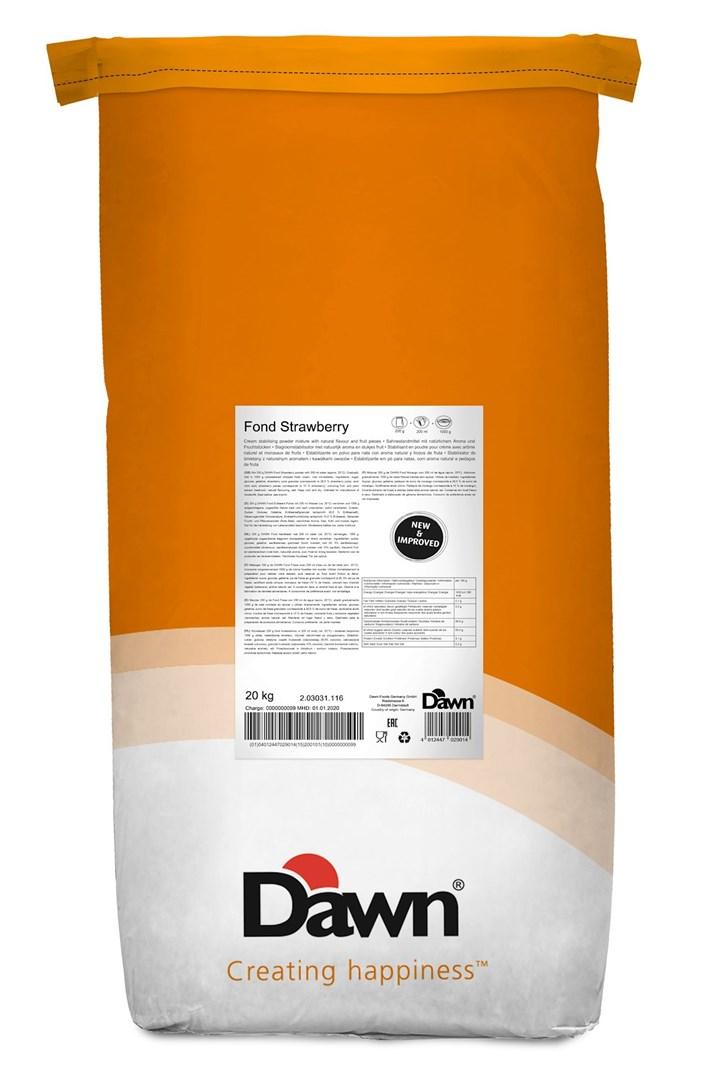 Productafbeelding Dawn Fond Aardbei 20 kg zak