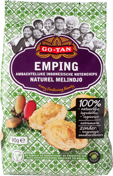 Productafbeelding Go-Tan Emping Melindjo 90g