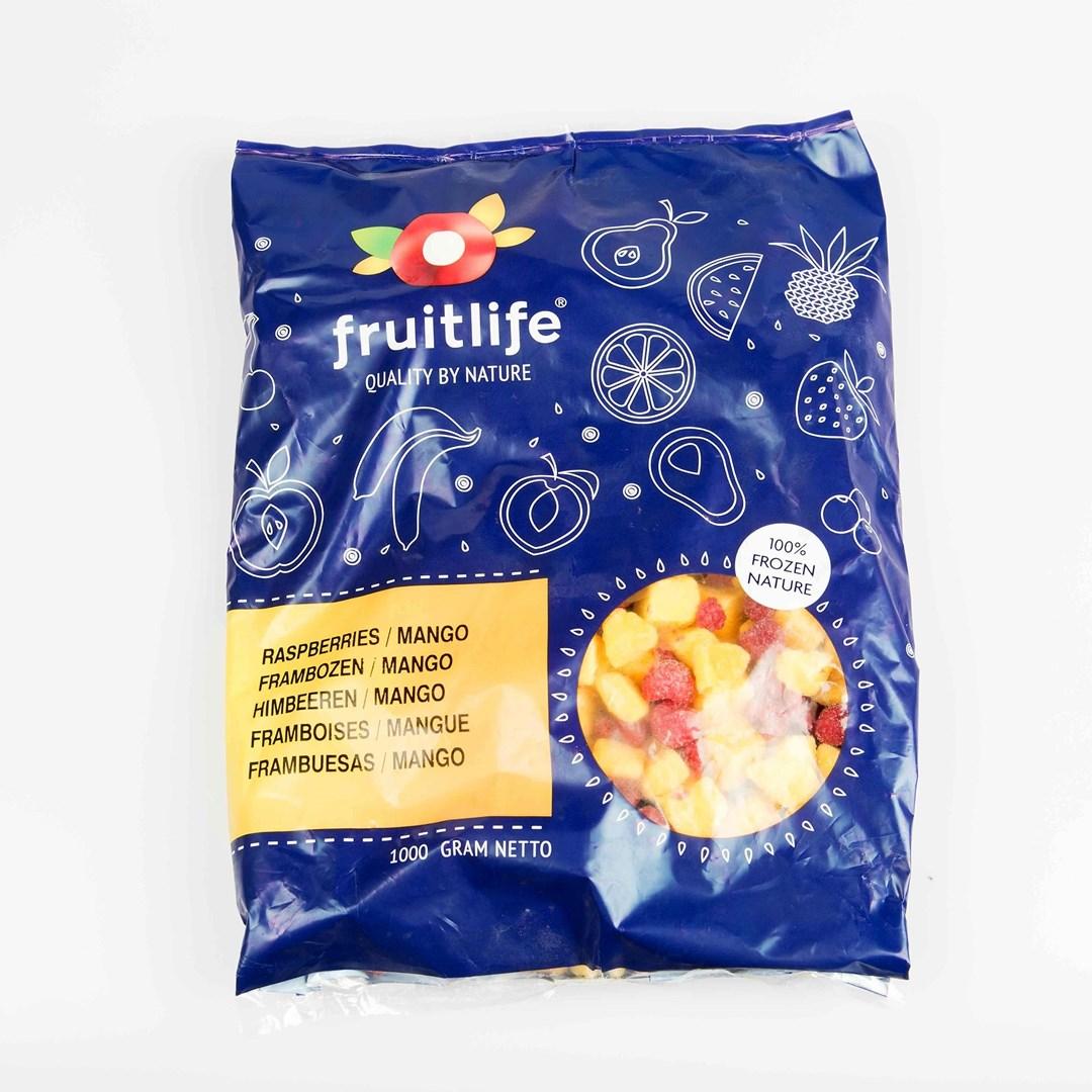 Productafbeelding FL IQF Smoothy Framboos/Mango 1 kg (10)