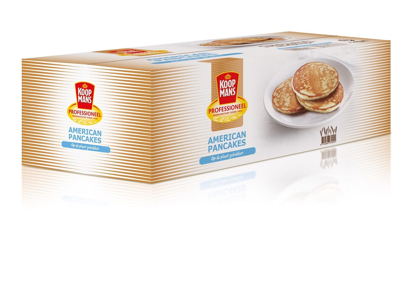 Productafbeelding Koopmans Professioneel Kant-en-klare American Pancakes 40x40g
