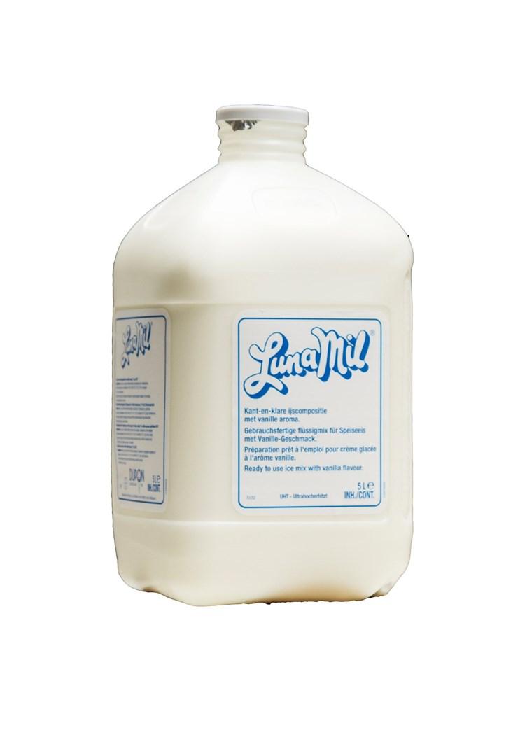 Productafbeelding Lunamil Ijsmix 7% PV 3x5L