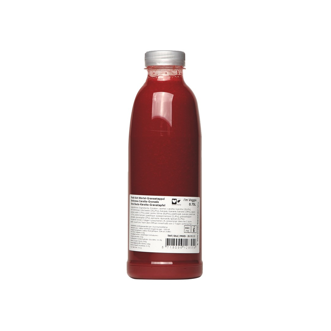 Productafbeelding Veggie Rood HPP 0,75L
