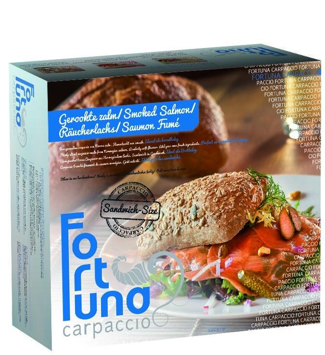 Productafbeelding Sandwich Zalm Carp. 4 x 5 x 50 gram