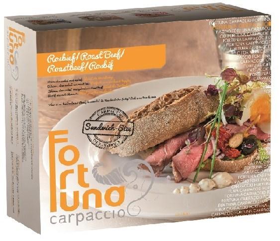 Productafbeelding Sandwich Rosbief 4 x 5 x 50 gram
