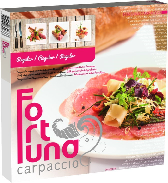 Productafbeelding Carpaccio Fortuna regular 100 gram