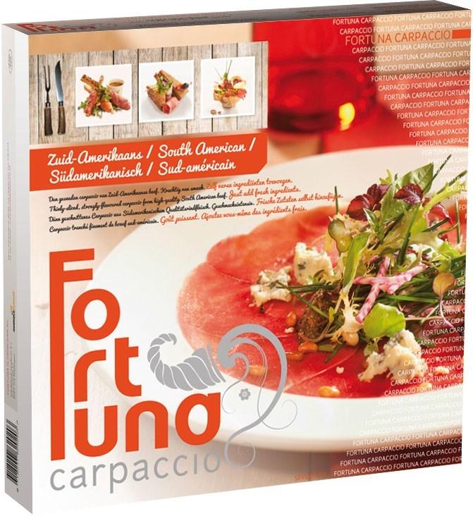 Productafbeelding Carpaccio Fortuna Zuid-Amerikaans 80 gram ø 26