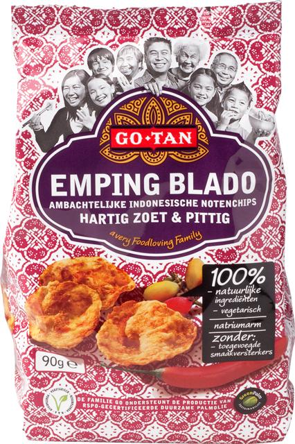 Productafbeelding Go-Tan Emping Blado 90g