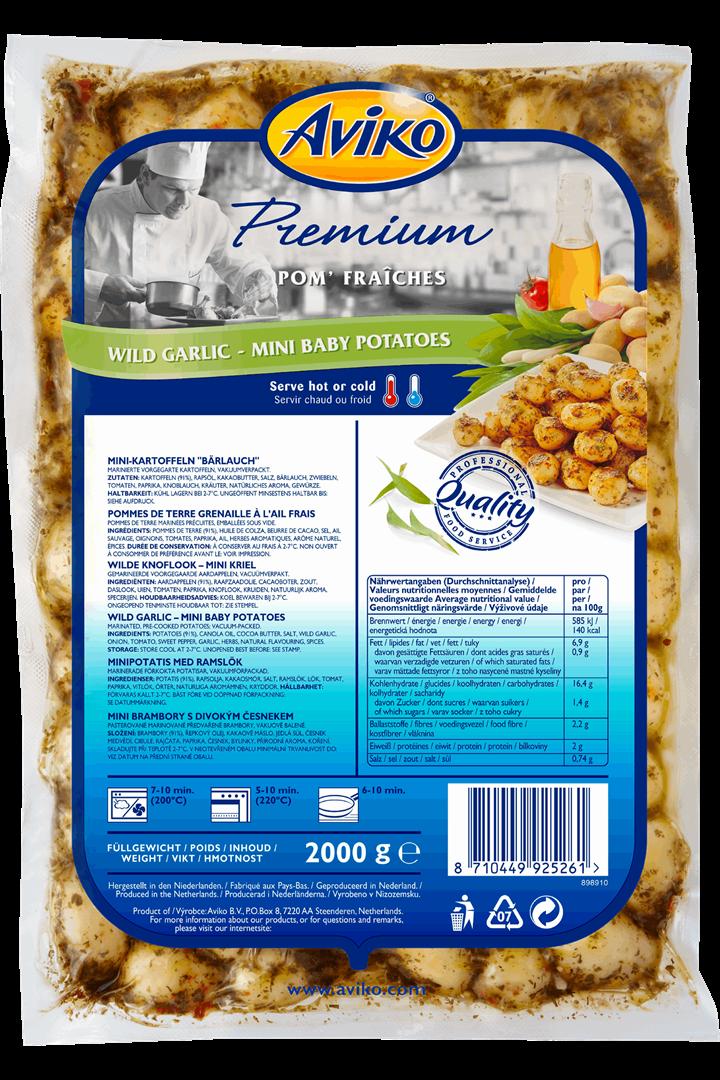 Productafbeelding Aviko Premium Marinated Wild Garlic2kg