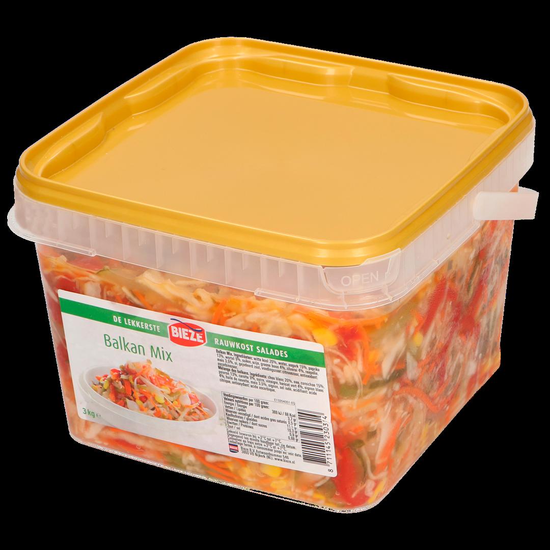 Productafbeelding Bieze rauwkost salades Balkan mix 3kg