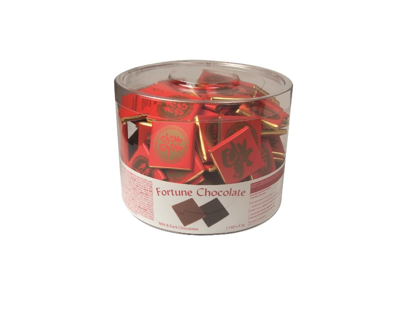 Productafbeelding Fortune chocolade assortiment 1x150x4,5g