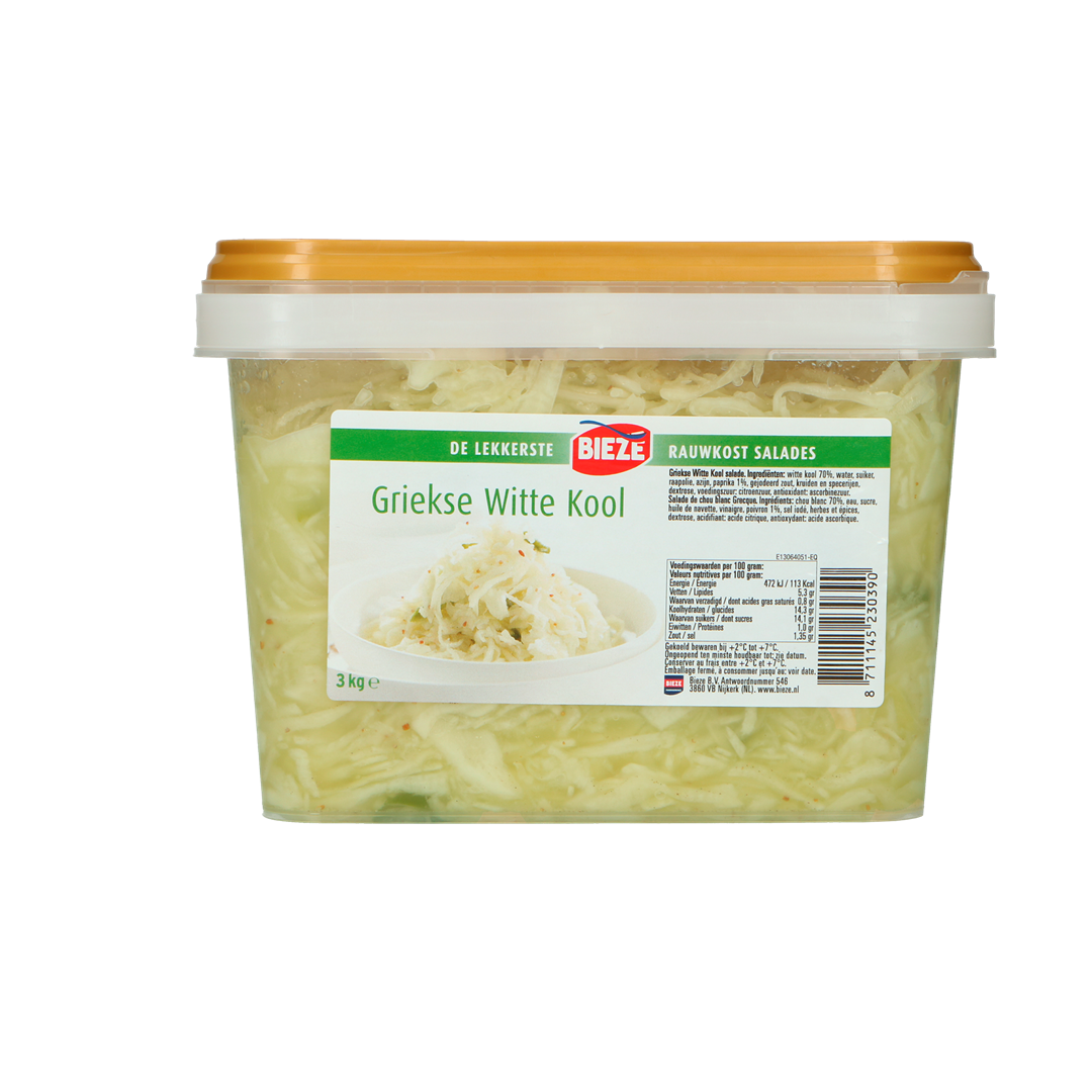 Productafbeelding Bieze Griekse witte kool 3kg