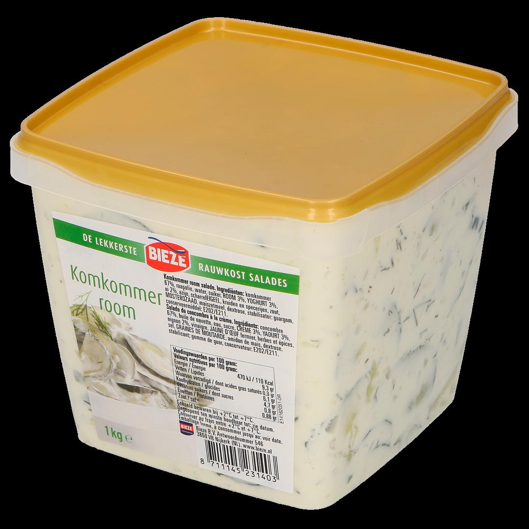 Productafbeelding Komkommer Room salade 1kg (Bieze foodservice)