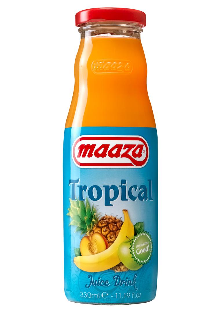 Productafbeelding Maaza juice drink tropical 330ml fles