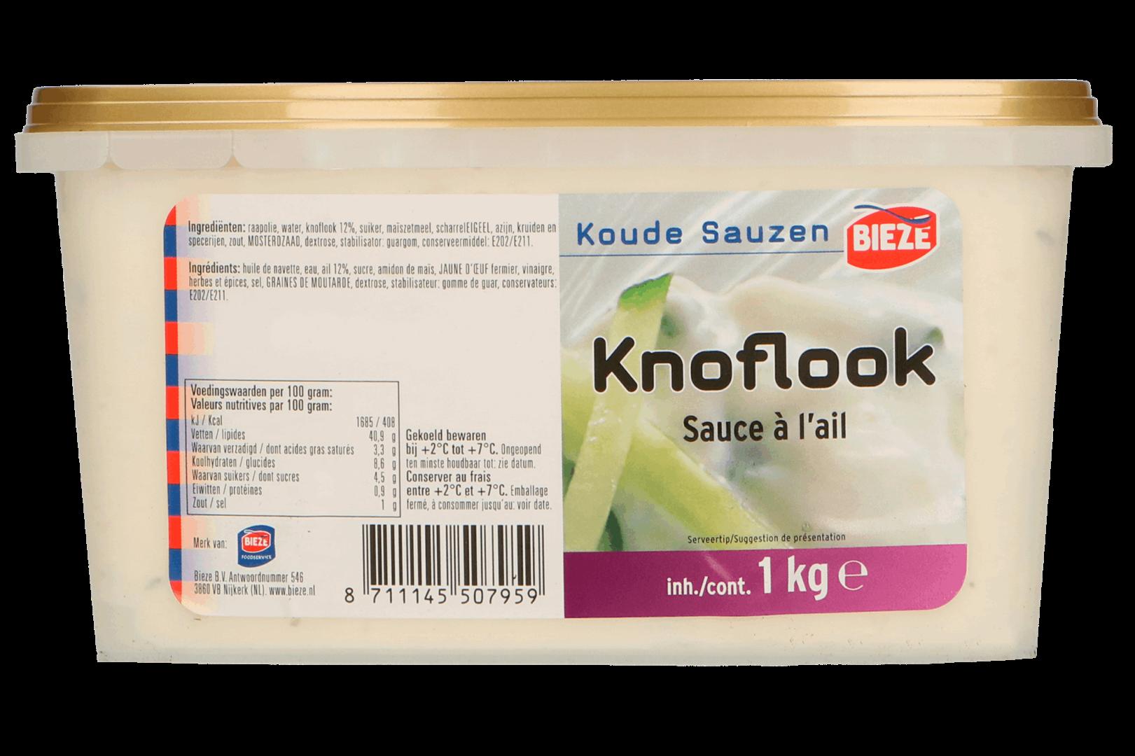 Productafbeelding Knoflooksaus 1kg