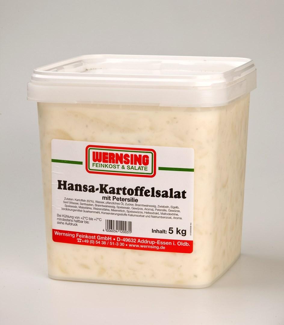 Productafbeelding Wernsing salade kartoffel peterselie 5kg