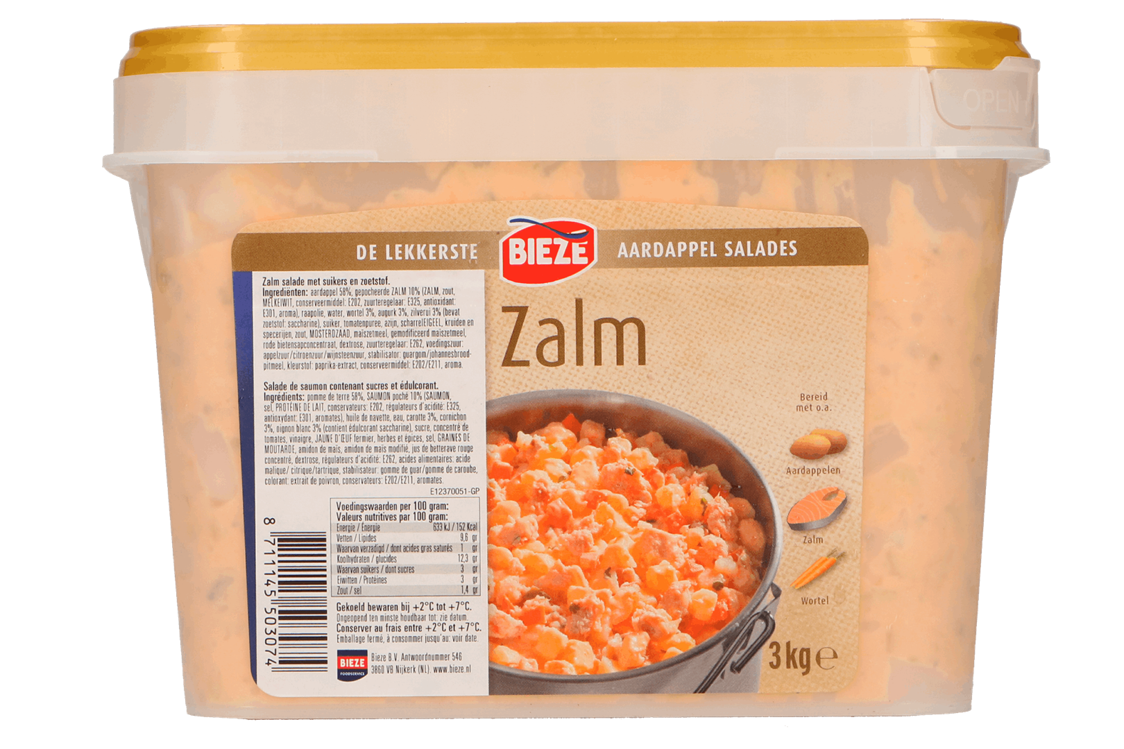 Productafbeelding Zalm aardappel salade 3kg