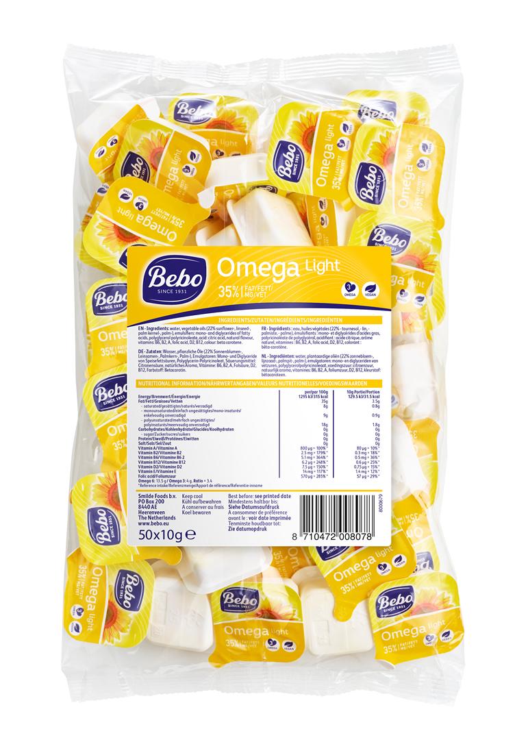 Productafbeelding BEBO Omega Light 6x50x10g