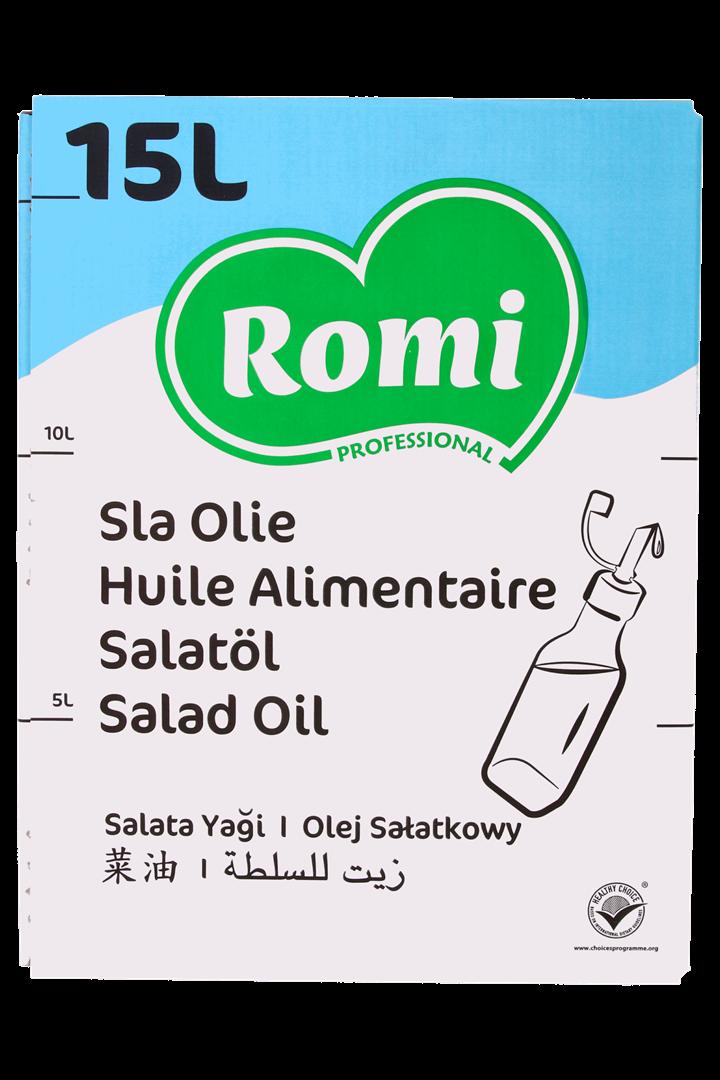 Productafbeelding ROMI Slaolie 15l
