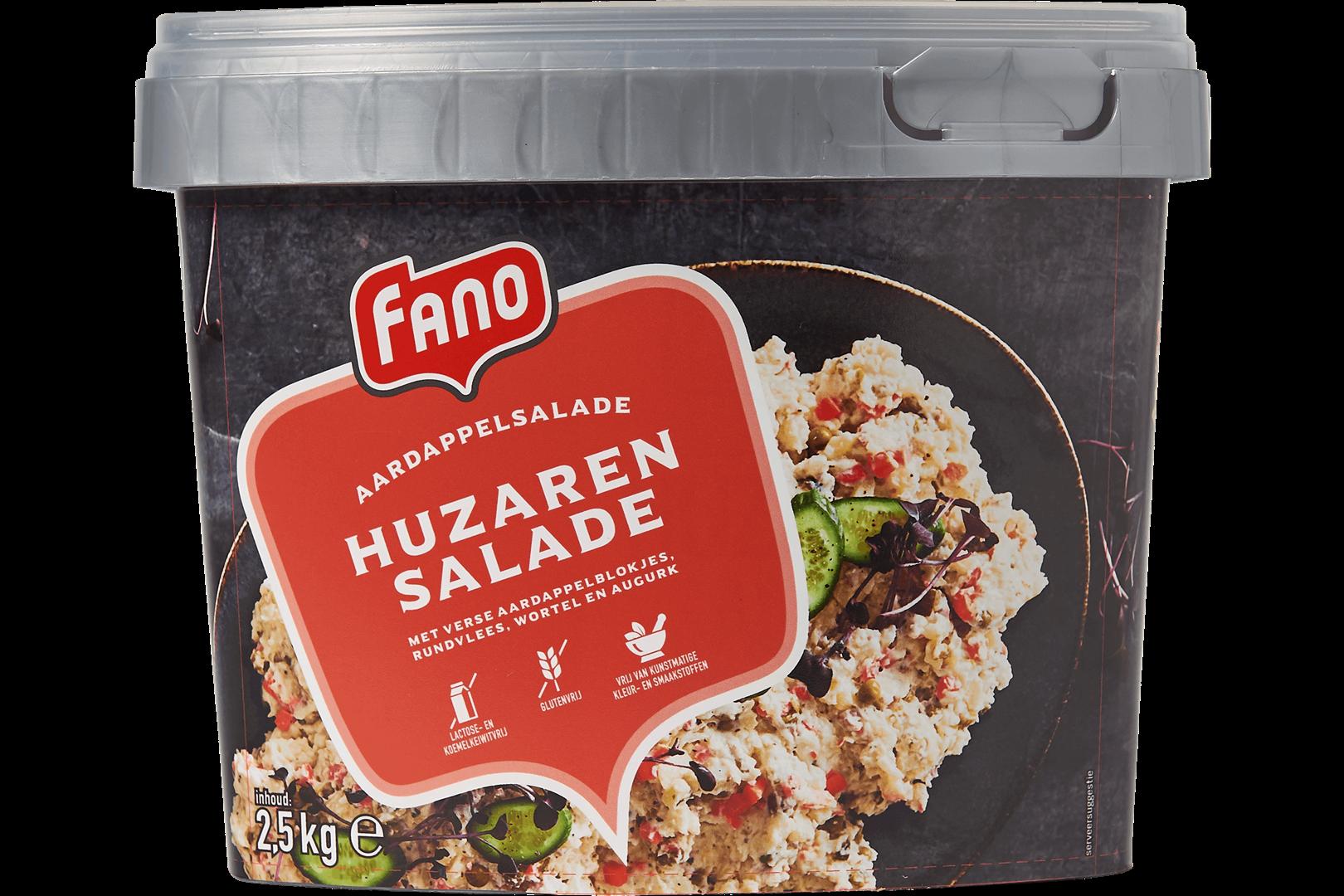 Productafbeelding FANO Huzarensalade Grof  2,5kg