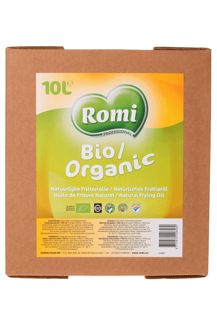 Productafbeelding ROMI Biologische Frituurolie 10l