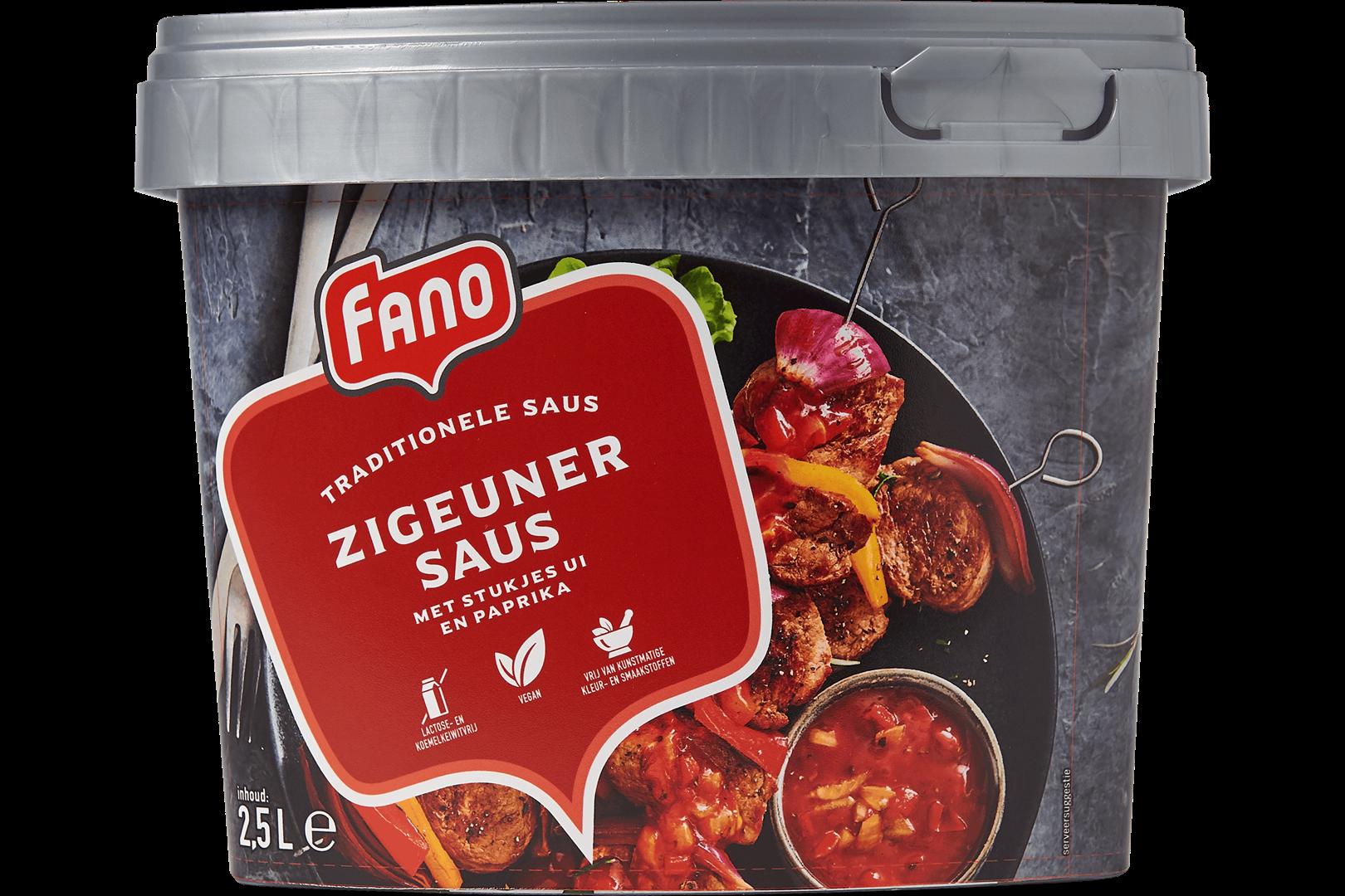 Productafbeelding FANO Zigeunersaus 2.5l