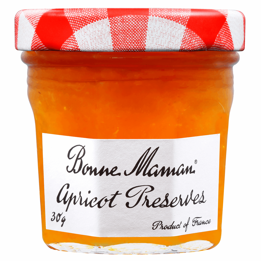 Productafbeelding Bonne Maman extra jam abrikozen 30g pot