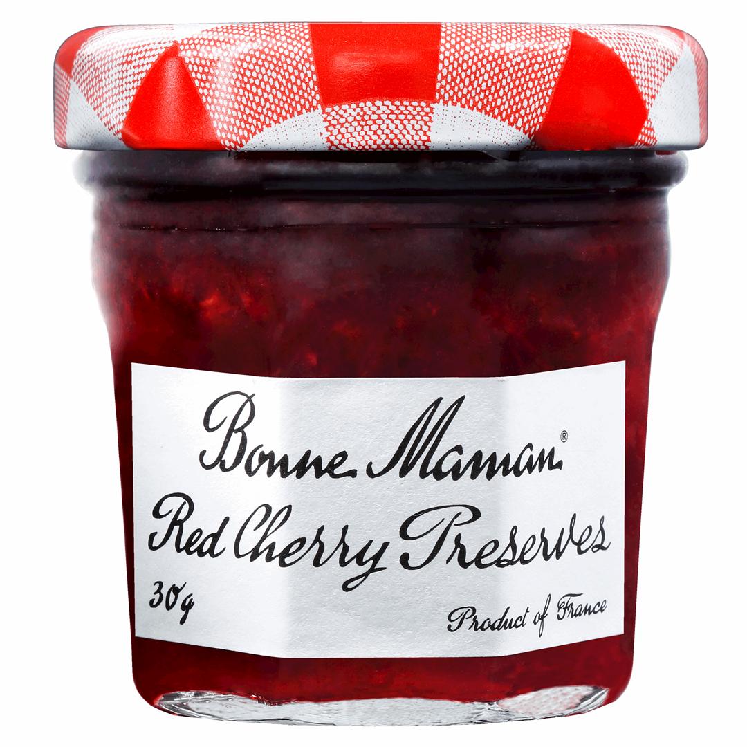 Productafbeelding Bonne Maman extra jam kersen 30g pot
