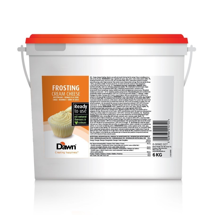 Productafbeelding Dawn Frosting Cream Cheese 6 kg emmer