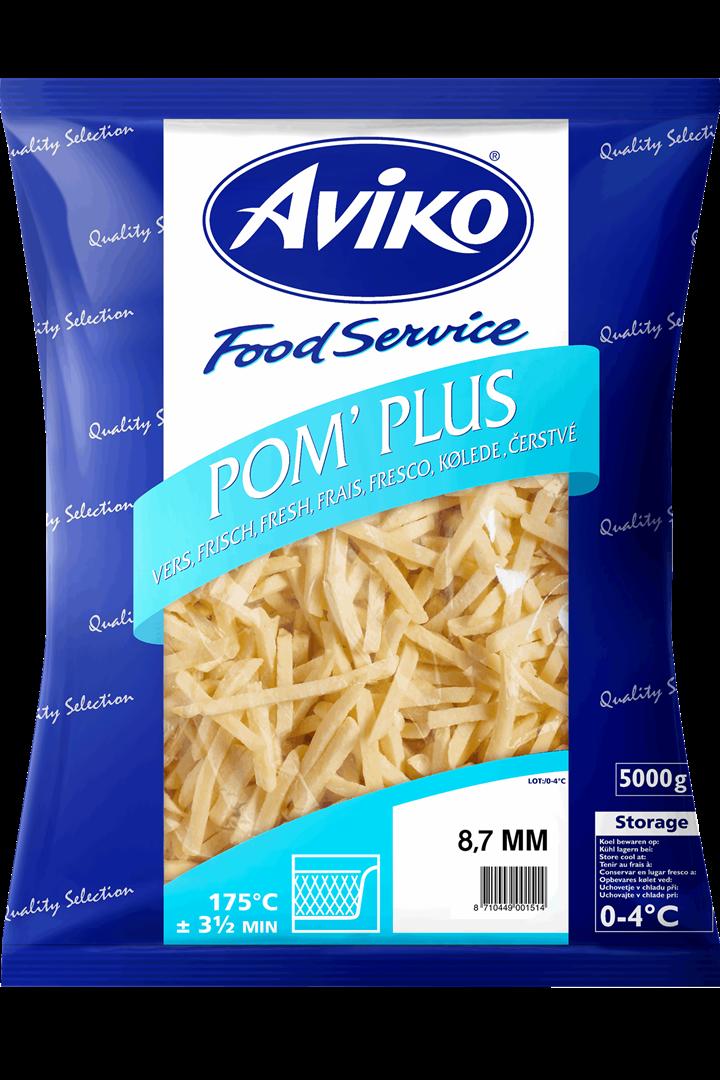 Productafbeelding Aviko 08.7mm Pom Plus Euro 5000g