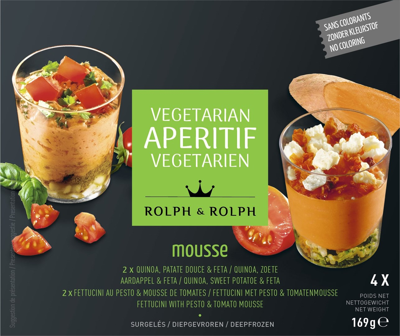 Productafbeelding Amuse 2x Zalm/Kwark & 2x Pesto/Tomaat