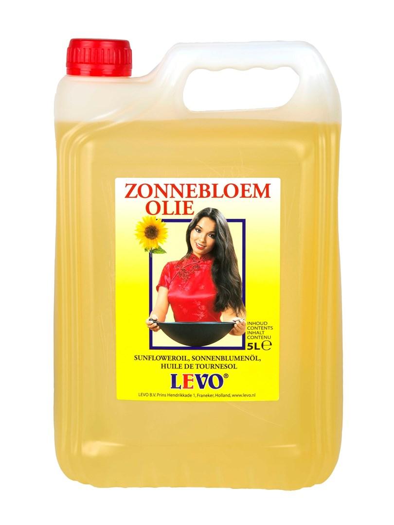 Productafbeelding Zonnebloemolie 5 liter can