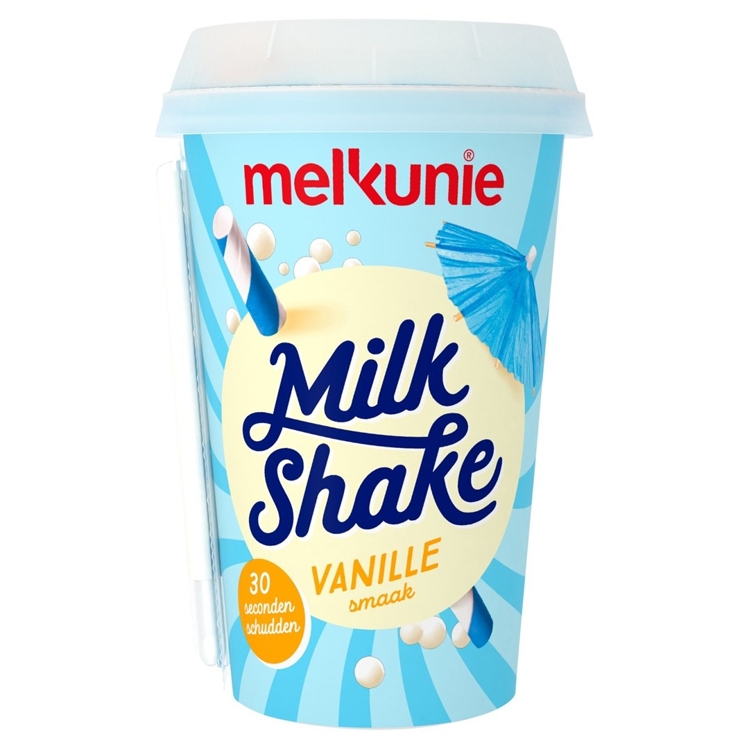 Productafbeelding Melkunie Milkshake Vanille 200ml
