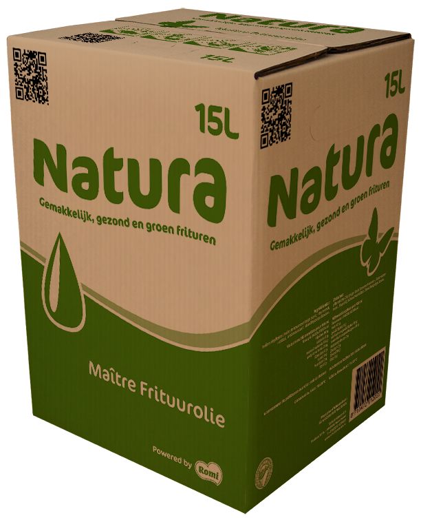 Productafbeelding Natura Maitre Frituurolie 15l