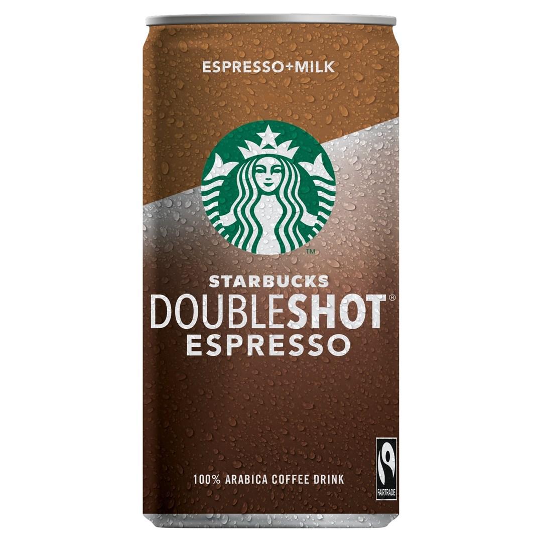 Productafbeelding Starbucks doubleshot espresso & milk 200ml can