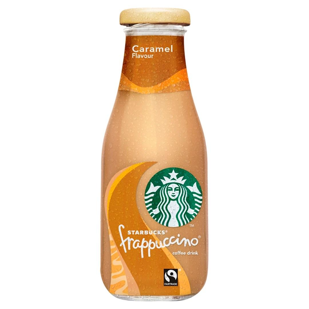 Productafbeelding Starbucks Frappucino Caramel 250ml fles (cy 250 mlt)