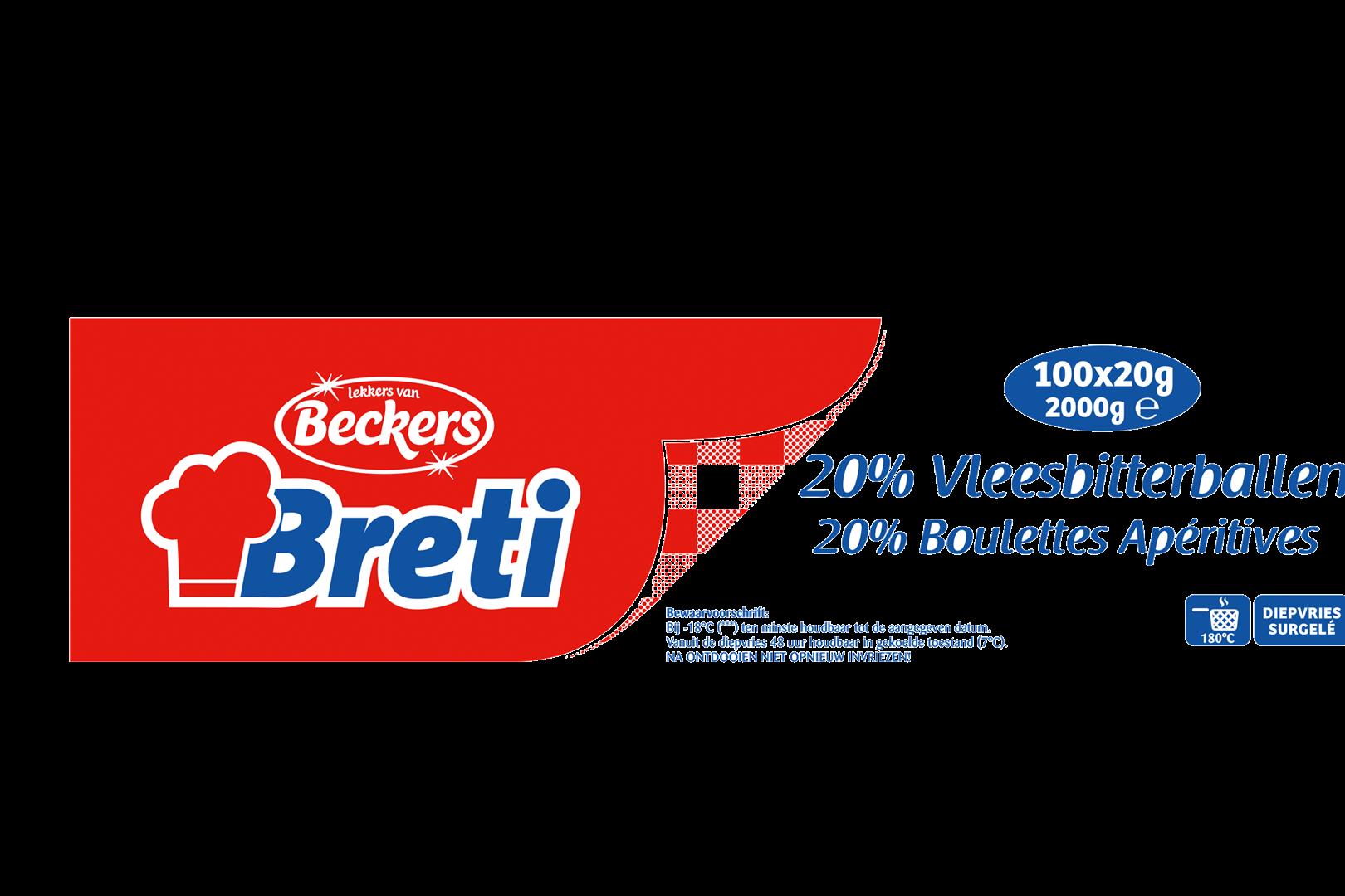 Productafbeelding 20% PV BB 100X20 BRETI