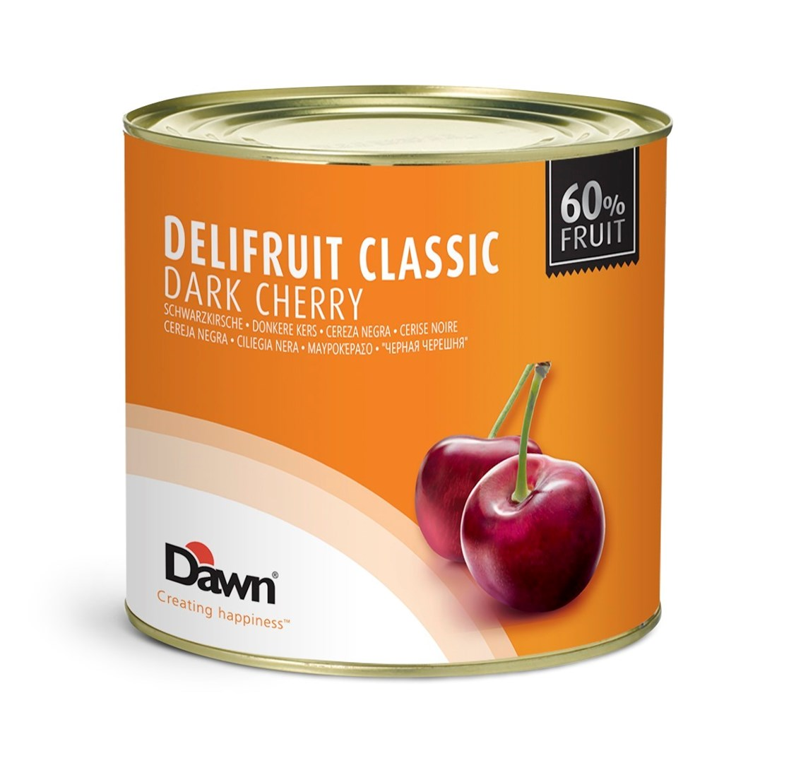 Productafbeelding Dawn Delifruit Classic Donkere Kers 2,7 kg blik
