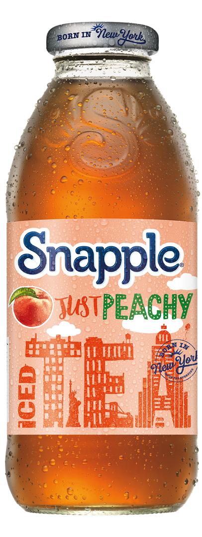 Productafbeelding Snapple iced tea peach 473ml fles