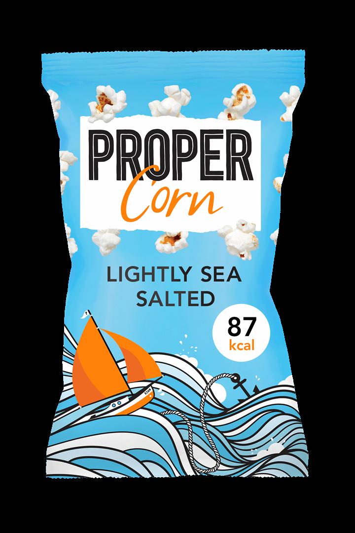 Productafbeelding Propercorn popcorn lightly sea salted 20g zak