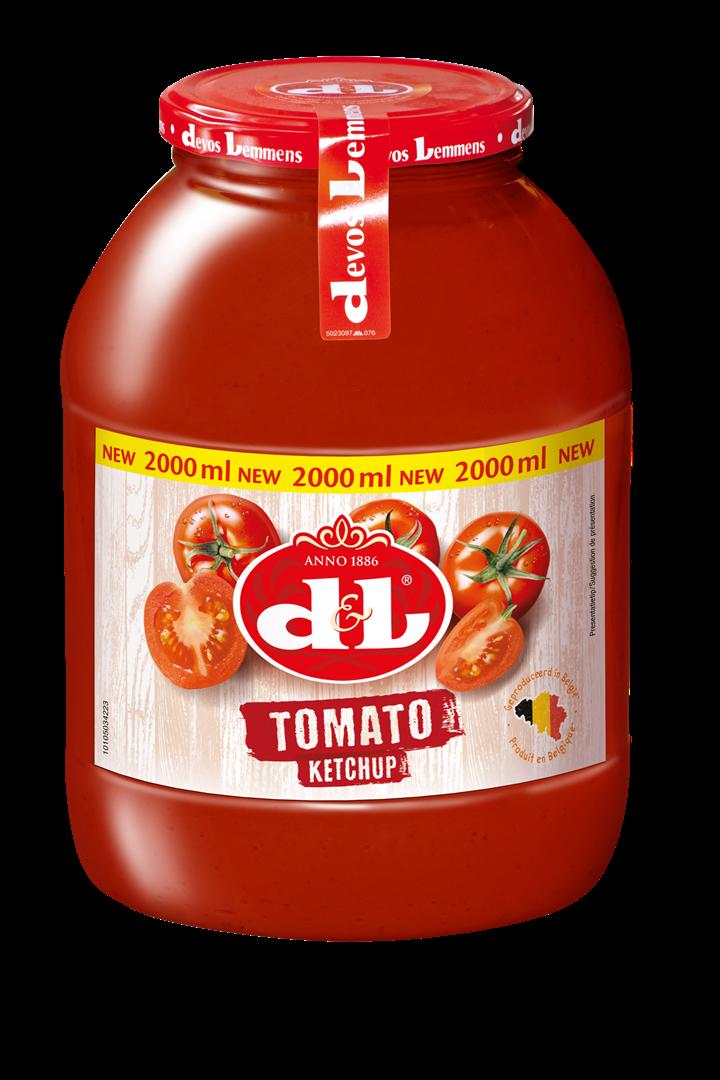 Productafbeelding D&L Ketchup 2 l Bus