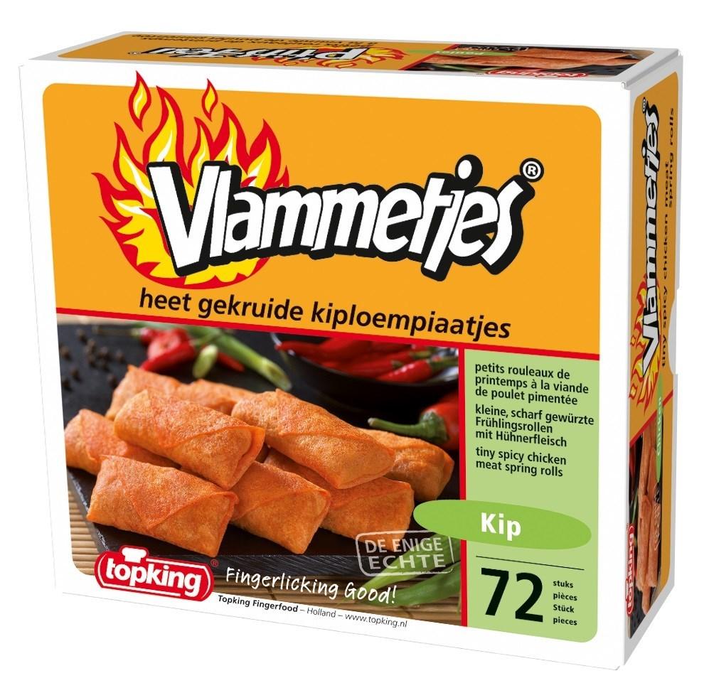 Productafbeelding Vlammetjes Kip 72 st.