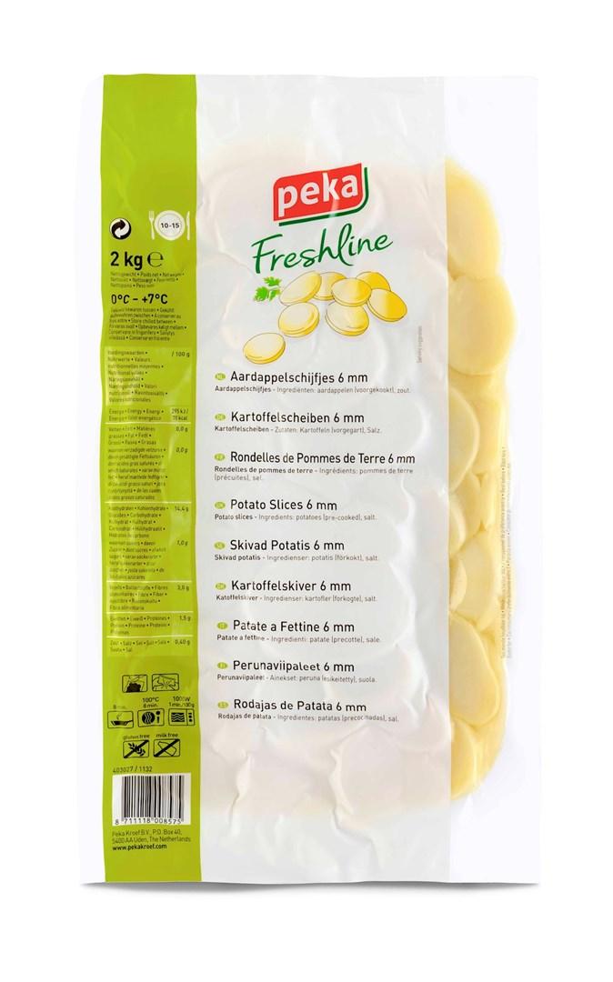 Productafbeelding Peka Freshline Aardappelschijfjes 6mm 2kg
