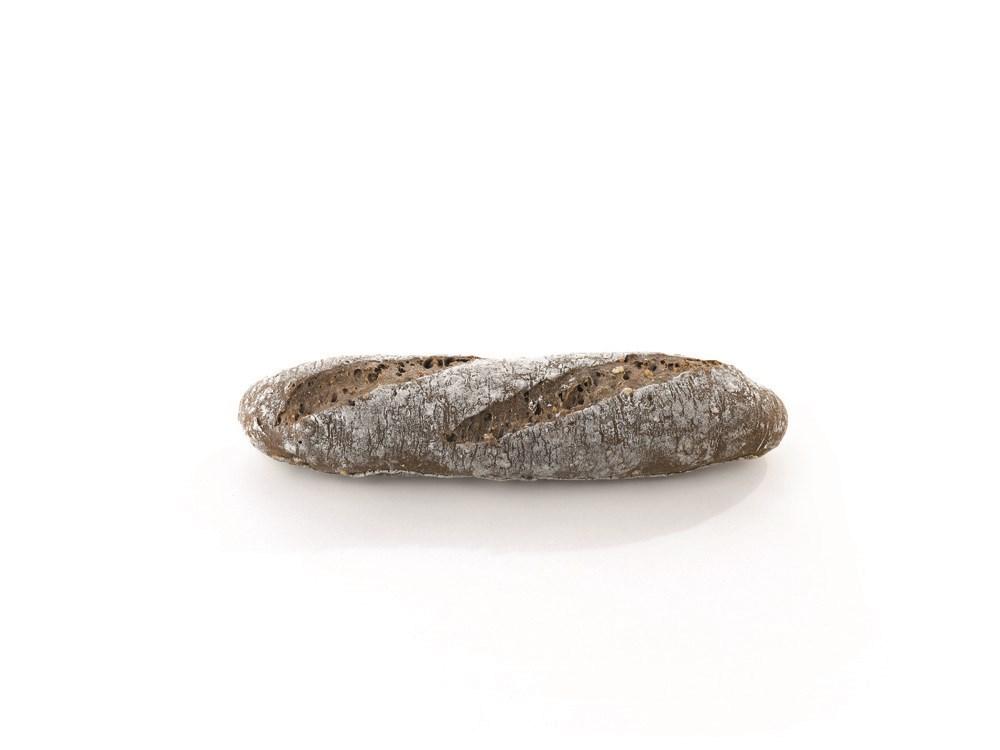 Productafbeelding B668 Bruin meergranen baguelino broodje