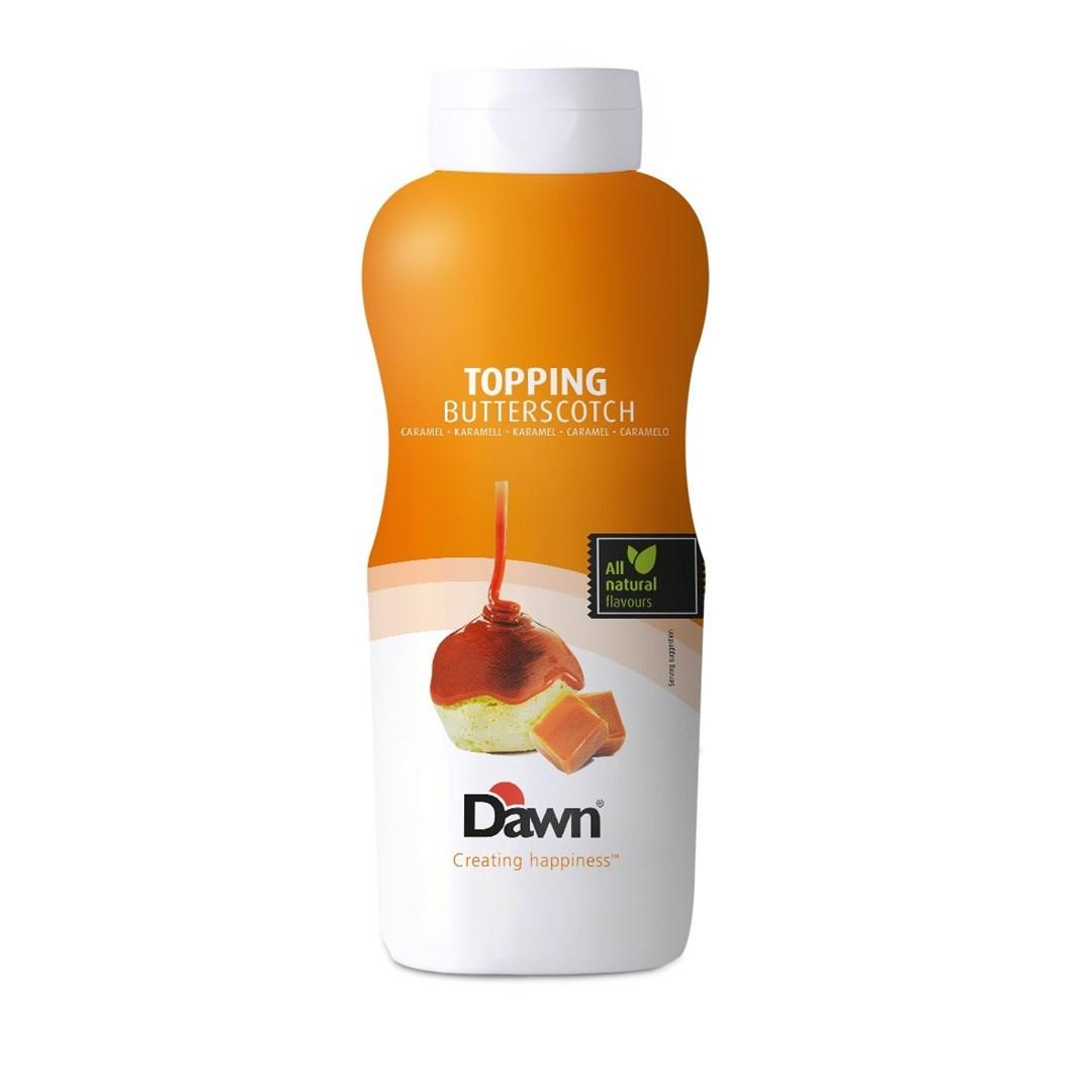 Productafbeelding Dawn Topping Karamel Butterscotch 1 kg fles