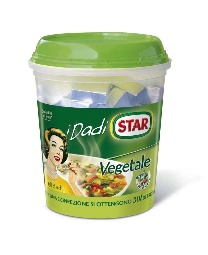 Productafbeelding Star Bouillonblokjes Vegetale 600 g Beker/kuipje